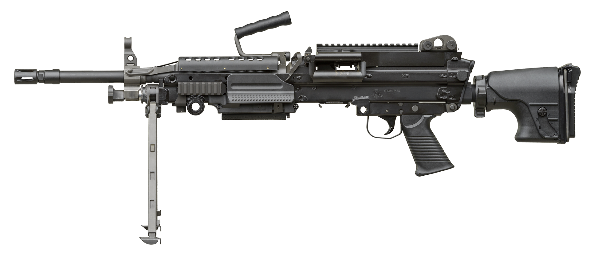 FN MINIMI® 7.62 Mk3 Tactical with accessories