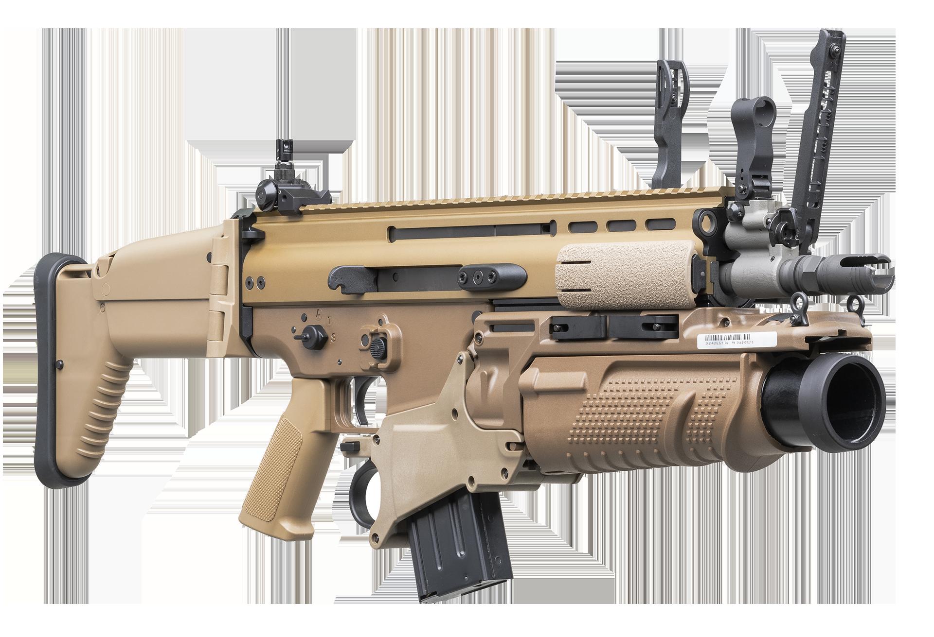 FN SCAR®-L Mk2 CQC FDE FN40GL