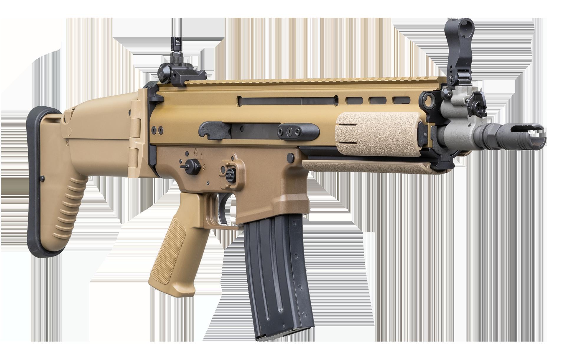FN SCAR®-L Mk2 CQC FDE